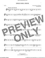 Cover icon of Jingle Bell Rock sheet music for violin solo by Bobby Helms, Aaron Tippin, Jim Boothe and Joe Beal, intermediate skill level