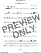 Cover icon of Jingle Bell Rock sheet music for cello solo by Bobby Helms, Aaron Tippin, Jim Boothe and Joe Beal, intermediate skill level