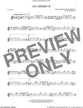 Cover icon of All Shook Up sheet music for alto saxophone solo by Elvis Presley, Suzi Quatro and Otis Blackwell, intermediate skill level