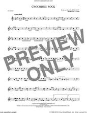 Cover icon of Crocodile Rock sheet music for trumpet solo by Elton John and Bernie Taupin, intermediate skill level
