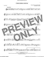 Cover icon of Crocodile Rock sheet music for alto saxophone solo by Elton John and Bernie Taupin, intermediate skill level