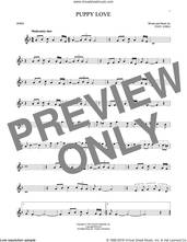 Cover icon of Puppy Love sheet music for horn solo by Paul Anka and Donny Osmond, intermediate skill level