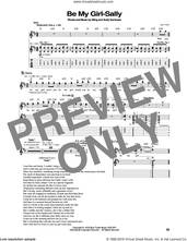 Cover icon of Be My Girl sheet music for guitar (tablature) by The Police, Andy Summers and Sting, intermediate skill level