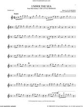 Cover icon of Under The Sea (from The Little Mermaid) sheet music for tenor saxophone solo by Alan Menken & Howard Ashman, Alan Menken and Howard Ashman, intermediate skill level