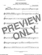 Cover icon of Best Of Friends sheet music for violin solo by Richard Johnston and Stan Fidel, intermediate skill level