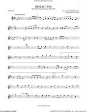 Cover icon of Reflection (Pop Version) (from Mulan) sheet music for tenor saxophone solo by Christina Aguilera, David Zippel and Matthew Wilder, intermediate skill level