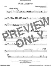 Cover icon of Twist And Shout sheet music for cello solo by The Beatles, The Isley Brothers, Bert Russell and Phil Medley, intermediate skill level