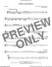 Cover icon of Twist And Shout sheet music for trumpet solo by The Beatles, The Isley Brothers, Bert Russell and Phil Medley, intermediate skill level