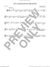 Cover icon of Put Your Hand In The Hand sheet music for alto saxophone solo by Gene MacLellan and MacLellan and Ocean, intermediate skill level
