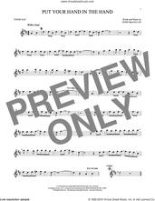 Cover icon of Put Your Hand In The Hand sheet music for tenor saxophone solo by Gene MacLellan and MacLellan and Ocean, intermediate skill level