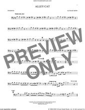 Cover icon of Alley Cat sheet music for trombone solo by Bent Fabric and Frank Bjorn, intermediate skill level