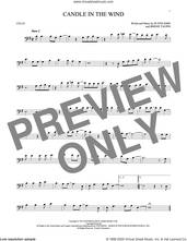 Cover icon of Candle In The Wind sheet music for cello solo by Elton John and Bernie Taupin, intermediate skill level