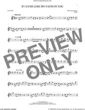 Cover icon of If I Ever Lose My Faith In You sheet music for alto saxophone solo by Sting, intermediate skill level