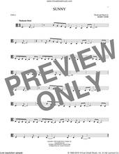 Cover icon of Sunny sheet music for viola solo by Bobby Hebb and Pat Martino, intermediate skill level