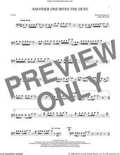 Cover icon of Another One Bites The Dust sheet music for cello solo by Queen and John Deacon, intermediate skill level