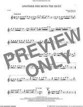 Cover icon of Another One Bites The Dust sheet music for flute solo by Queen and John Deacon, intermediate skill level