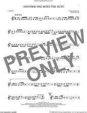 Cover icon of Another One Bites The Dust sheet music for clarinet solo by Queen and John Deacon, intermediate skill level