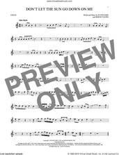 Cover icon of Don't Let The Sun Go Down On Me sheet music for violin solo by Elton John & George Michael, David Archuleta, Bernie Taupin and Elton John, intermediate skill level
