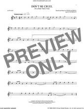 Cover icon of Don't Be Cruel (To A Heart That's True) sheet music for alto saxophone solo by Elvis Presley and Otis Blackwell, intermediate skill level