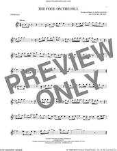 Cover icon of The Fool On The Hill sheet music for tenor saxophone solo by The Beatles, John Lennon and Paul McCartney, intermediate skill level
