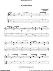 Cover icon of Contradanza sheet music for guitar solo (chords) by Fernando Ferandiere, classical score, easy guitar (chords)