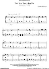 Cover icon of Can You Dance For Me sheet music for piano solo by Hauschka, intermediate skill level