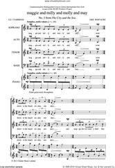 Cover icon of Maggie And Milly And Molly And May (From 'The City And The Sea') sheet music for choir (SATB: soprano, alto, tenor, bass) by Eric Whitacre and E.E. Cummings, classical score, intermediate skill level