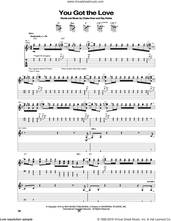 Cover icon of You Got The Love sheet music for guitar (tablature) by Rufus Featuring Chaka Khan, Chaka Khan and Ray Parker Jr., intermediate skill level