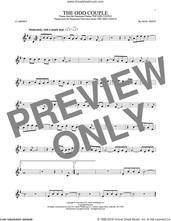 Cover icon of The Odd Couple sheet music for clarinet solo by Sammy Cahn and Neal Hefti, intermediate skill level