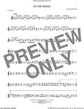 Cover icon of In The Mood sheet music for clarinet solo by Joe Garland and Glenn Miller & His Orchestra, intermediate skill level