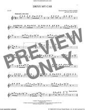 Cover icon of Drive My Car sheet music for flute solo by The Beatles, John Lennon and Paul McCartney, intermediate skill level