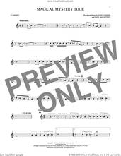 Cover icon of Magical Mystery Tour sheet music for clarinet solo by The Beatles, John Lennon and Paul McCartney, intermediate skill level