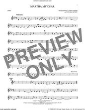 Cover icon of Martha My Dear sheet music for horn solo by The Beatles, John Lennon and Paul McCartney, intermediate skill level