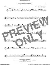 Cover icon of Come Together sheet music for flute solo by The Beatles, John Lennon and Paul McCartney, intermediate skill level