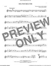 Cover icon of Helter Skelter sheet music for flute solo by The Beatles, John Lennon and Paul McCartney, intermediate skill level