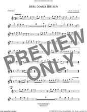 Cover icon of Here Comes The Sun sheet music for tenor saxophone solo by The Beatles and George Harrison, intermediate skill level