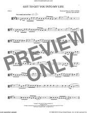 Cover icon of Got To Get You Into My Life sheet music for viola solo by The Beatles, John Lennon and Paul McCartney, intermediate skill level