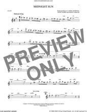 Cover icon of Midnight Sun sheet music for flute solo by Johnny Mercer, Lionel Hampton and Sonny Burke, intermediate skill level