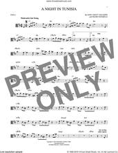 Cover icon of A Night In Tunisia sheet music for viola solo by Dizzy Gillespie and Frank Paparelli, intermediate skill level