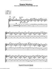 Cover icon of Space Monkey sheet music for guitar (tablature) by Placebo, Brian Molko, Stefan Olsdal and Steve Hewitt, intermediate skill level