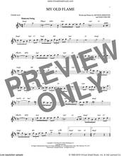 Cover icon of My Old Flame sheet music for tenor saxophone solo by Arthur Johnston, Peggy Lee and Sam Coslow, intermediate skill level