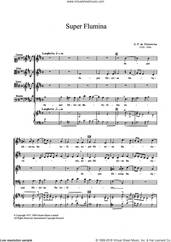 Cover icon of Super Flumina sheet music for choir by Giovanni Palestrina, classical score, intermediate skill level