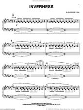 Cover icon of Inverness sheet music for piano solo by Suzanne Ciani, intermediate skill level