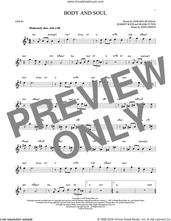 Cover icon of Body And Soul sheet music for violin solo by Edward Heyman, Tony Bennett & Amy Winehouse, Frank Eyton, Johnny Green and Robert Sour, intermediate skill level