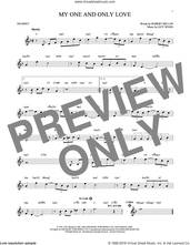 Cover icon of My One And Only Love sheet music for trumpet solo by Guy Wood and Robert Mellin, intermediate skill level