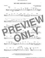 Cover icon of My One And Only Love sheet music for trombone solo by Guy Wood and Robert Mellin, intermediate skill level