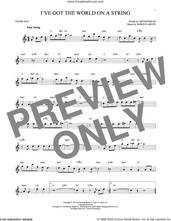 Cover icon of I've Got The World On A String sheet music for tenor saxophone solo by Harold Arlen, Dick Hyman and Ted Koehler, intermediate skill level