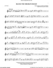 Cover icon of Bless The Broken Road sheet music for alto saxophone solo by Rascal Flatts, Bobby Boyd, Jeffrey Hanna and Marcus Hummon, intermediate skill level