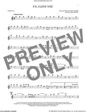 Cover icon of P.S. I Love You sheet music for tenor saxophone solo by The Beatles, John Lennon and Paul McCartney, intermediate skill level