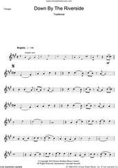 Cover icon of Down By The Riverside sheet music for trumpet solo, intermediate skill level